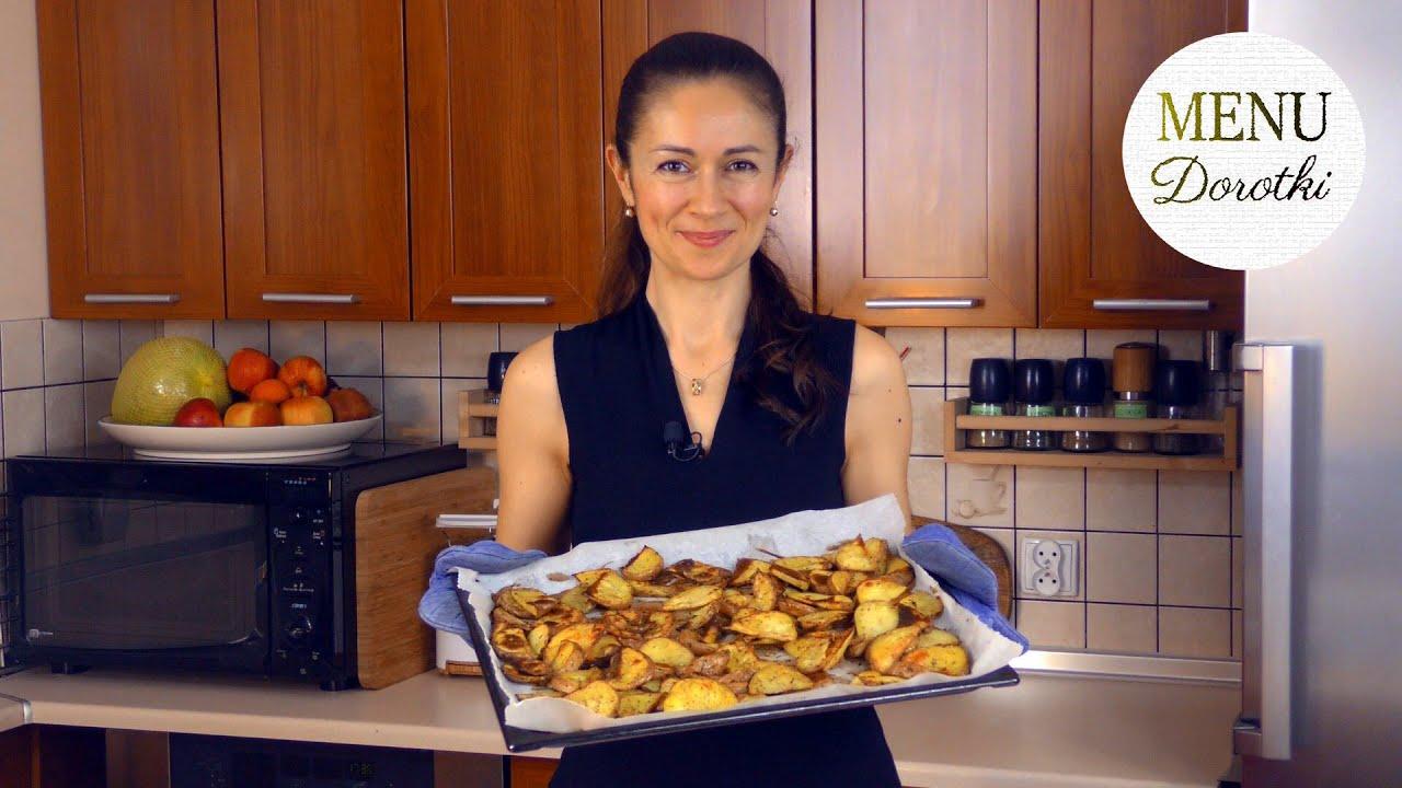 Pieczone i chrupiące ziemniaki z piekarnika po prowansalsku. Jak z restauracji ;-) MENU Dorotki.