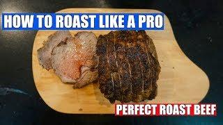 Easy Roast Beef - How to Roast Beef - Beef Joint in the Oven - Juicy Roast Beef - Beef Gravy