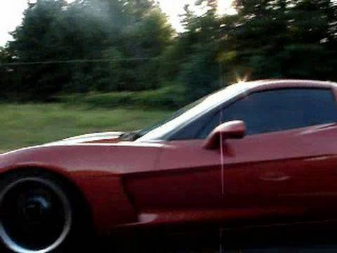 Street Racing 98 TransAm WS6 C6 Corvette Twin Turbo blow by cruise