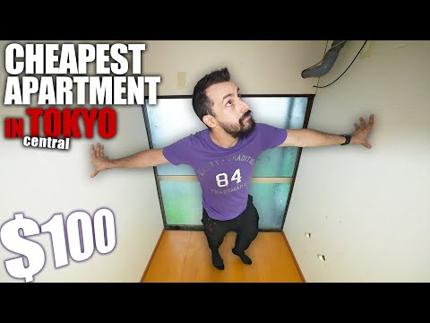 Inside Tokyo's CHEAPEST Apartment - $100