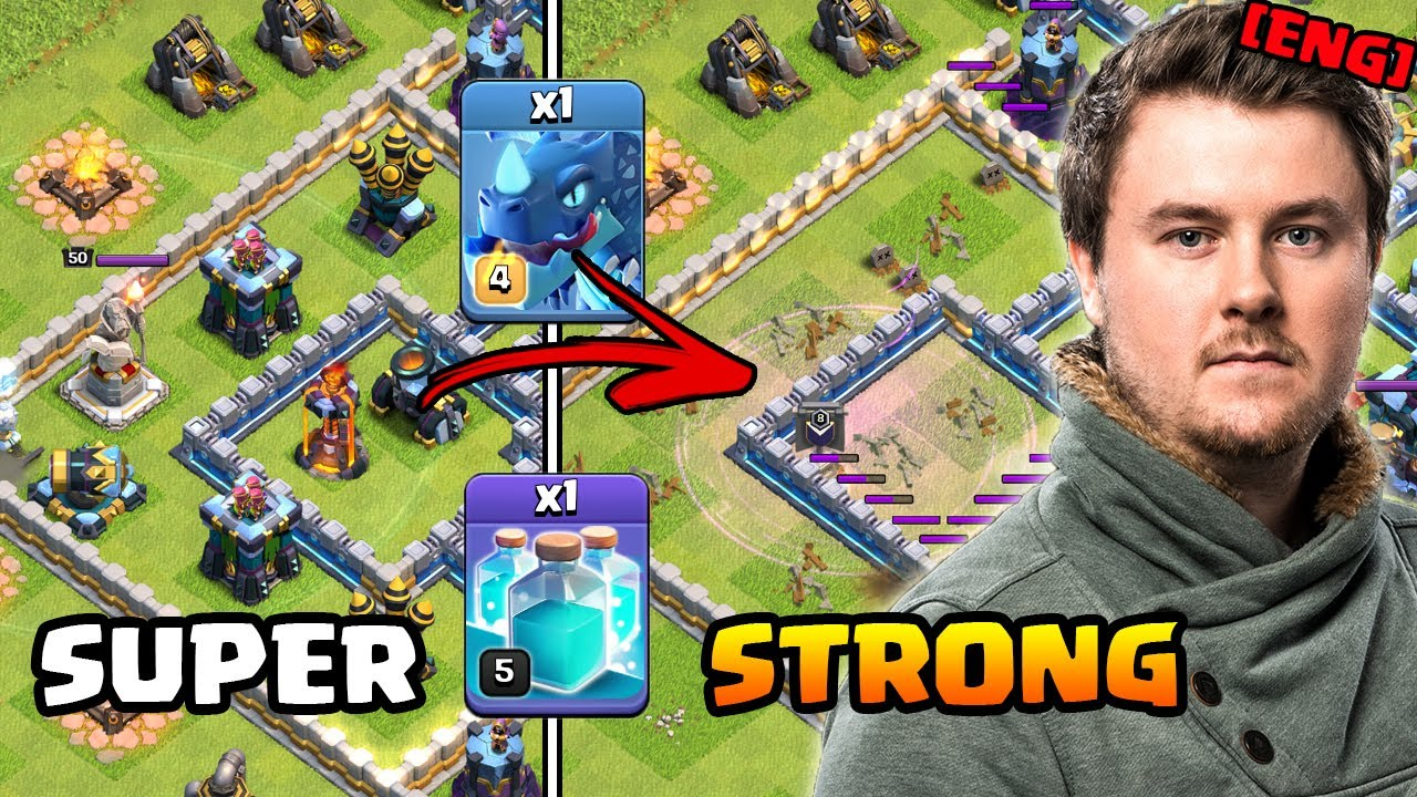 Super strong at the moment | Townhall 13 Attack Strategy Dragclone | #clashofclans