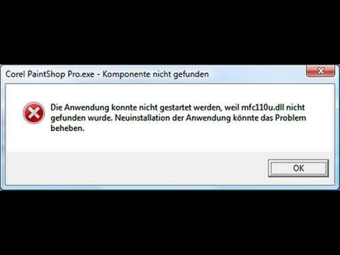 arreglar error mfc110u.dll y mfc100u.dll - youtube