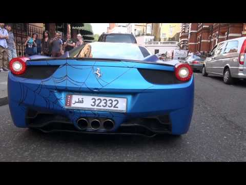 WORST Ferrari 458 PARKING SKILLS EVER!