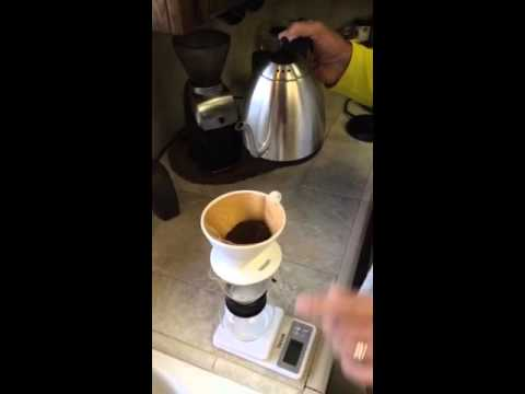 Melitta Coffee Pour Over: A Drama in One Act