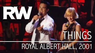 Robbie Williams | Things | Live At The Albert 2001