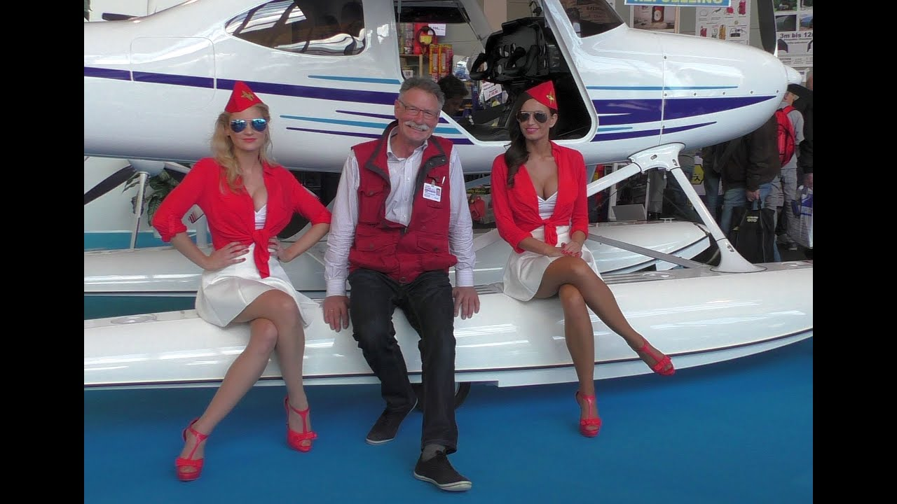 AERO-EXPO 2015 in Friedrichshafen - YouTube