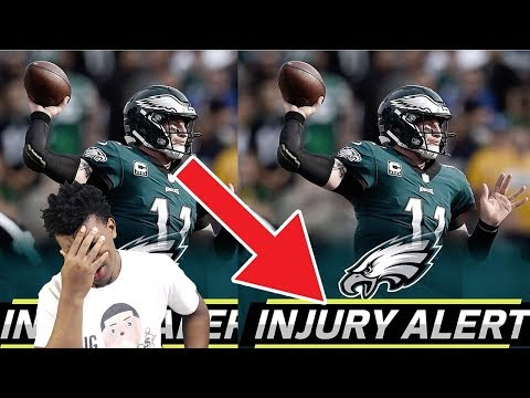CARSON WENTZ KNEE INJURY MAY BE A TORN ACL !! Eagles vs Rams  NFL Week 14 Game Highlights
