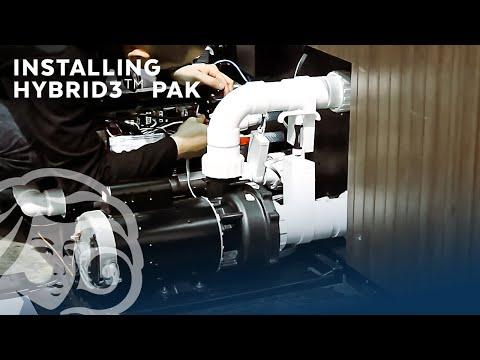 Hooking up a Beachcomber Hybrid3 Pak