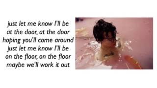 harry styles - meet me in the hallway ; lyrics