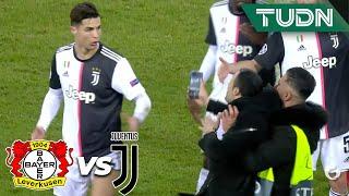 ¡CR7 explota contra aficionado! | Leverkusen 0 - 2 Juventus | Champions League  J6 - Grupo D | TUDN
