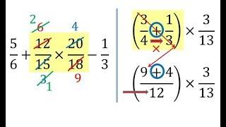 Operaciones combinadas con fracciones con y sin parentesis suma resta multiplicacion y division