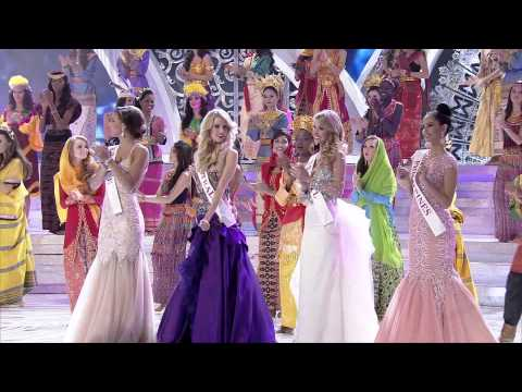Miss World 2013 Final  Blue One Love