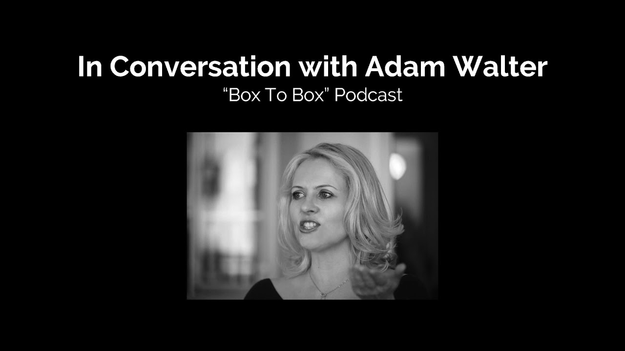 Hannah Greenwood in conversation with Adam Walter