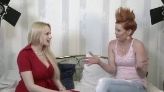 BravoSexy talk show Lucy de Light guest Angel Wicky