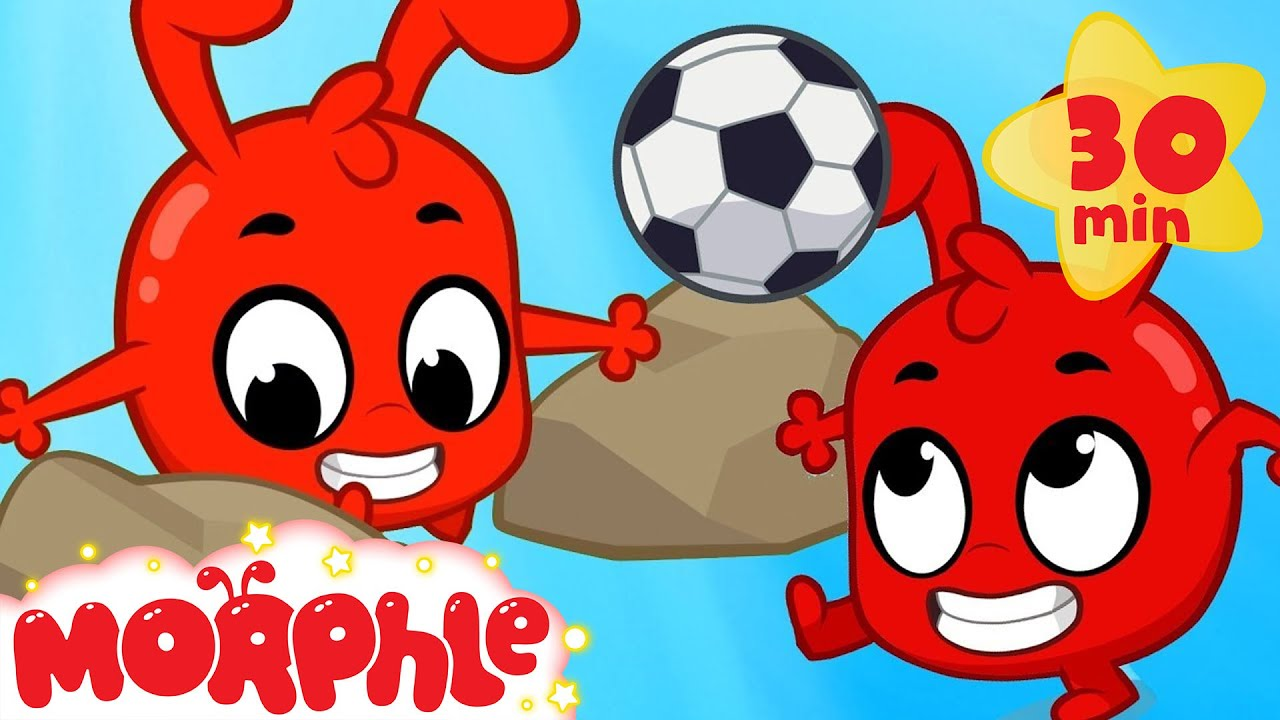 Morphle Plays Soccer My Magic Pet Morphle Cartoons For Kids Morphle Tv Mila And Morphle Youtube From dinosaus to cars, construction vehicles like diggers, dumptrucks and cranes to pets like cats dogs and lions! morphle plays soccer my magic pet morphle cartoons for kids morphle tv mila and morphle