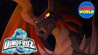 DINOFROZ episode 4 | A NEW ENEMY | Dinosaur cartoon for kids