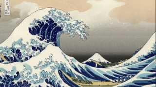drawing waves japanese hokusai wave mad draw painting kanagawa water