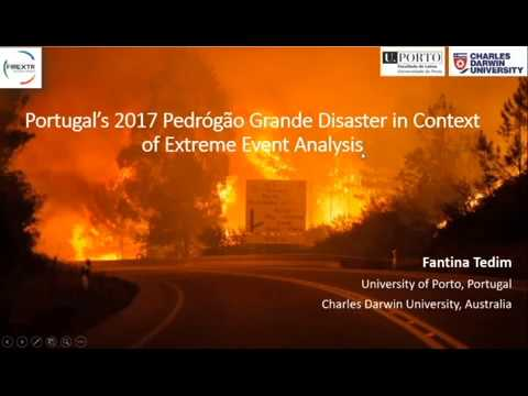 Portugal's 2017 Pedrógão Grande Disaster in Context of Extreme Event Analysis