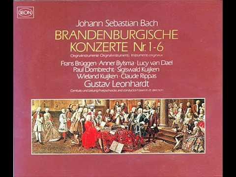 Gustav Leonhardt - Brandenburg Concerto #5