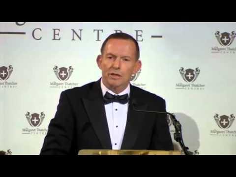 Tony Abbott Speech - Second Annual Margaret Thatcher Centre Gala Dinner &  Banquet 2015-10-27