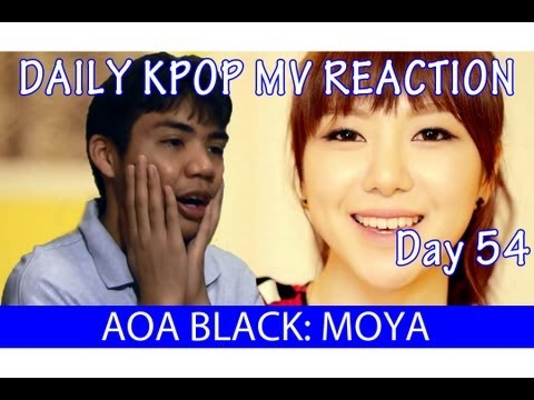 AOA BLACK - MOYA (모야) MV Reaction