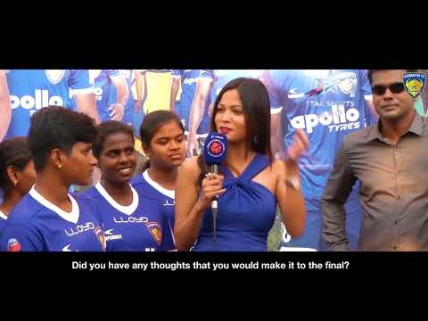 Interview with Tamil Nadu women's football team