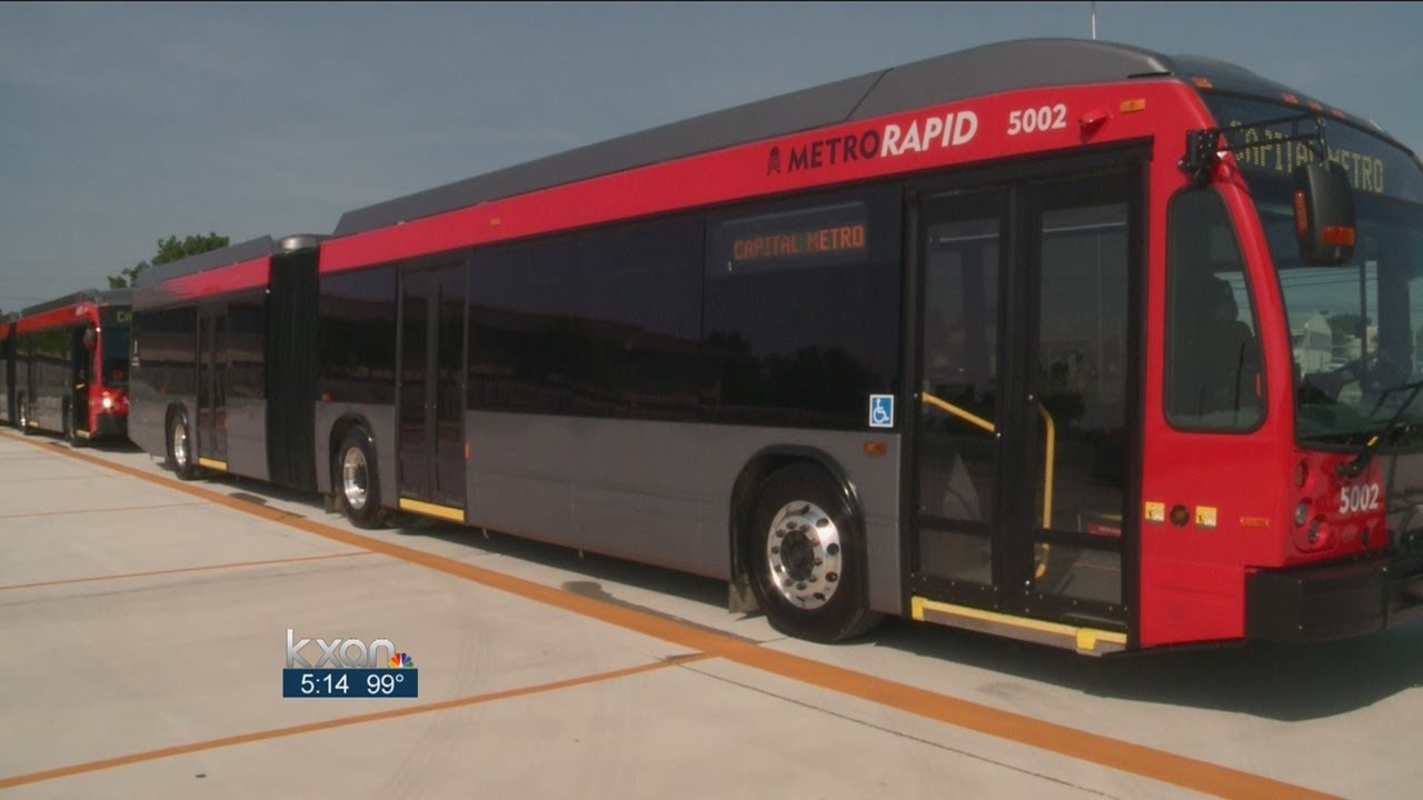 CapMetro rolls out 40 extra-long buses