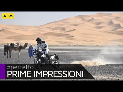 KTM 790 Adventure TEST in Morocco [ENGLISH SUB]