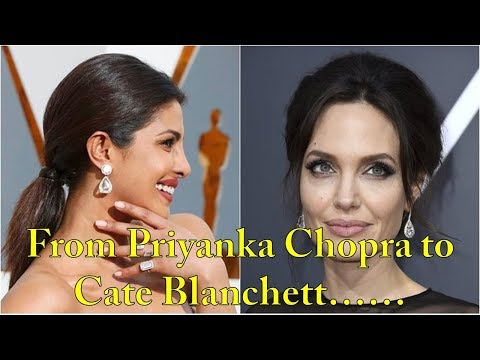 From Priyanka Chopra to Cate Blanchett: Jewelers talk about most exquisite jewelry onOscarsredcarpet