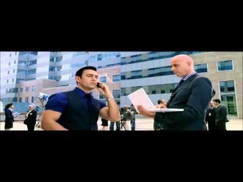 Ghajini Hindi Movie Part 3  Aamir Khan, Asin Thottumkal, Jiah Khan & A R Rahman thumbnail