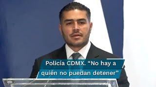 El titular de la Secretaría de Seguridad Ciudadana, Omar García Harfuch señaló que pese a la reducción en la incidencia delictiva, falta mucho por hacer