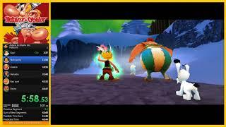[Speedrun] Asterix & Obelix XXL | 41:51 (loadless) | Potion% PC | Simaf