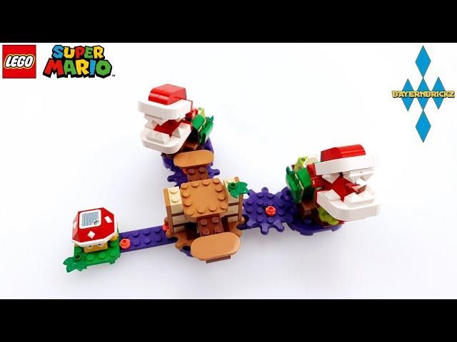 Lego Super Mario - 71382 Piranha Plant Challenge / Piranha Pflanzen Herausf. + Gameplay + How to fix