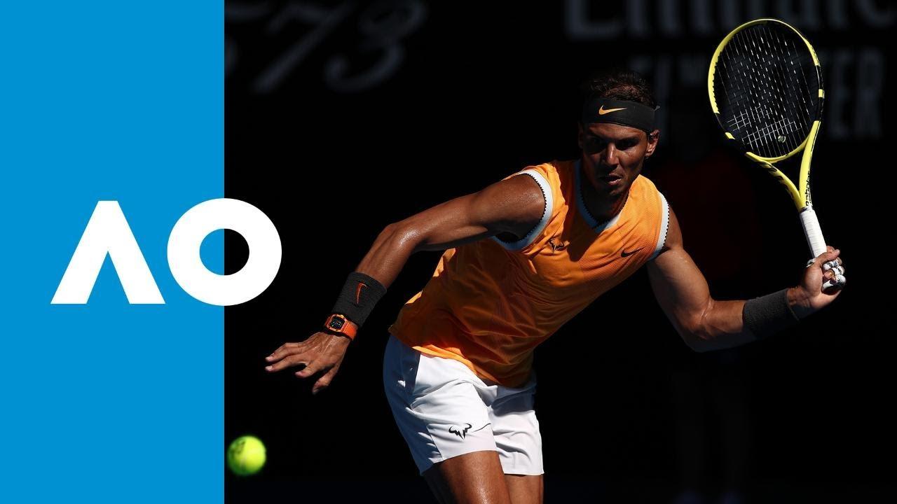 Nadal's winning tiebreak to defeat Berdych (4R) | Australian Open 2019