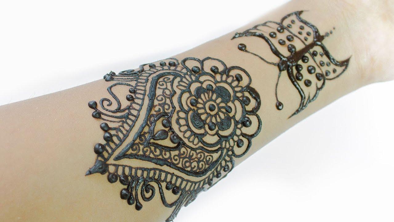 Mehndi Bunch On Arm : Beautiful arm bunch mehndi design khaleeji arabic for