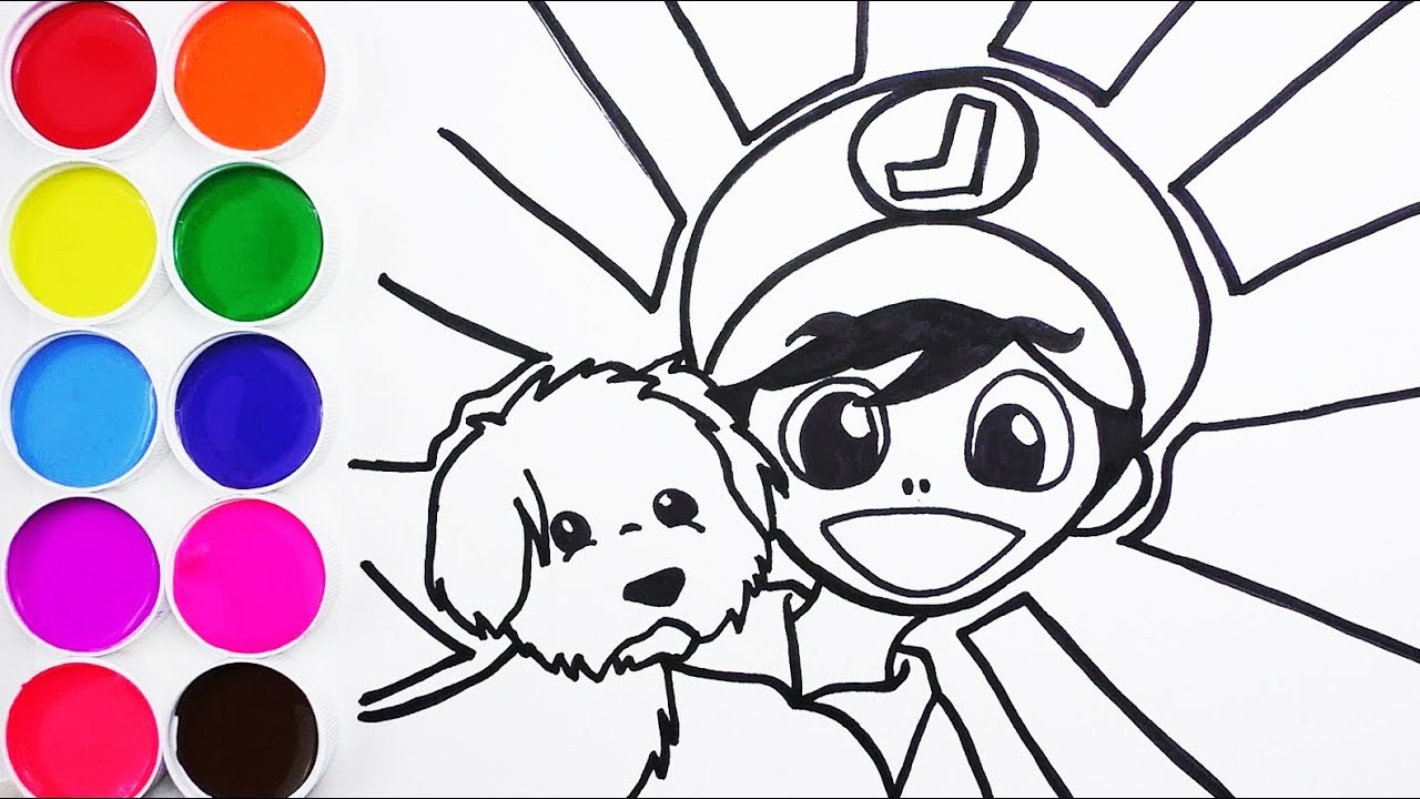 Cómo Dibujar Y Colorear Un Niño