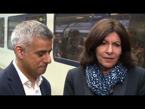 Paris mayor says Trump 'stupid' during trip to London
