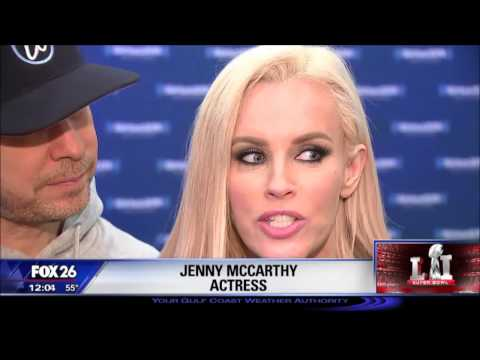Johnny Wahlberg? @JennyMcCarthy, @DonnieWahlberg host @SIRIUSXM show at @NFL Experience