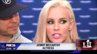 Johnny Wahlberg? Jenny McCarthy, Donnie Wahlberg host SIRIUS XM show at NFL Experience Video