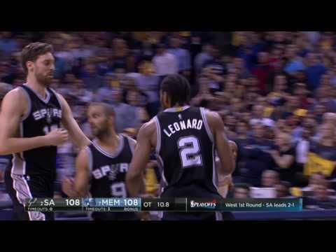 San Antonio Spurs vs Memphis Grizzlies - April 22, 2017
