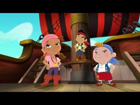Джейк и пираты Нетландии - Затонувшее сокровище Кабби!/ Золотая рыбка Кабби - Серия 10, Сезон 1