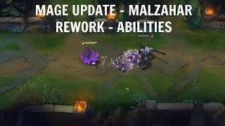 NEU!!! MAGE UPDATE - MALZAHAR REWORK - ABILITIES | League of Legends