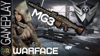 Gameplay - WARFACE - Assasinato Com MG3 e Clan