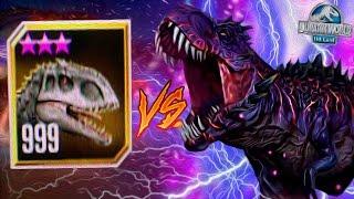 WORLD BOSS OMEGA 09 VS LVL 999 INDOMINUS REX! - Jurassic World The Game - *WORLD BOSS EVENT* HD