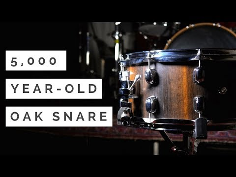Download Youtube: 5,000 YEAR-OLD BOG OAK SNARE DRUM | REPERCUSSION DRUMS REVIEW