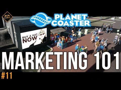Let's Do Some Marketing | Planet Coaster co-op gameplay #11