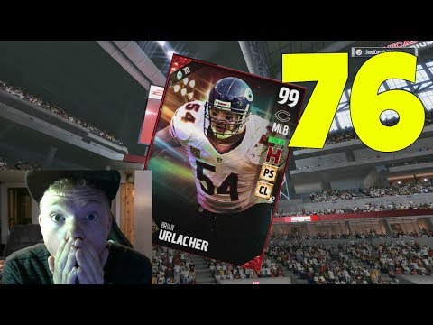 99 OVERALL BRIAN URLACHER! BEST MLB IN THE GAME! - MADDEN 17 ULTIMATE TEAM GAMEPLAY EP 76