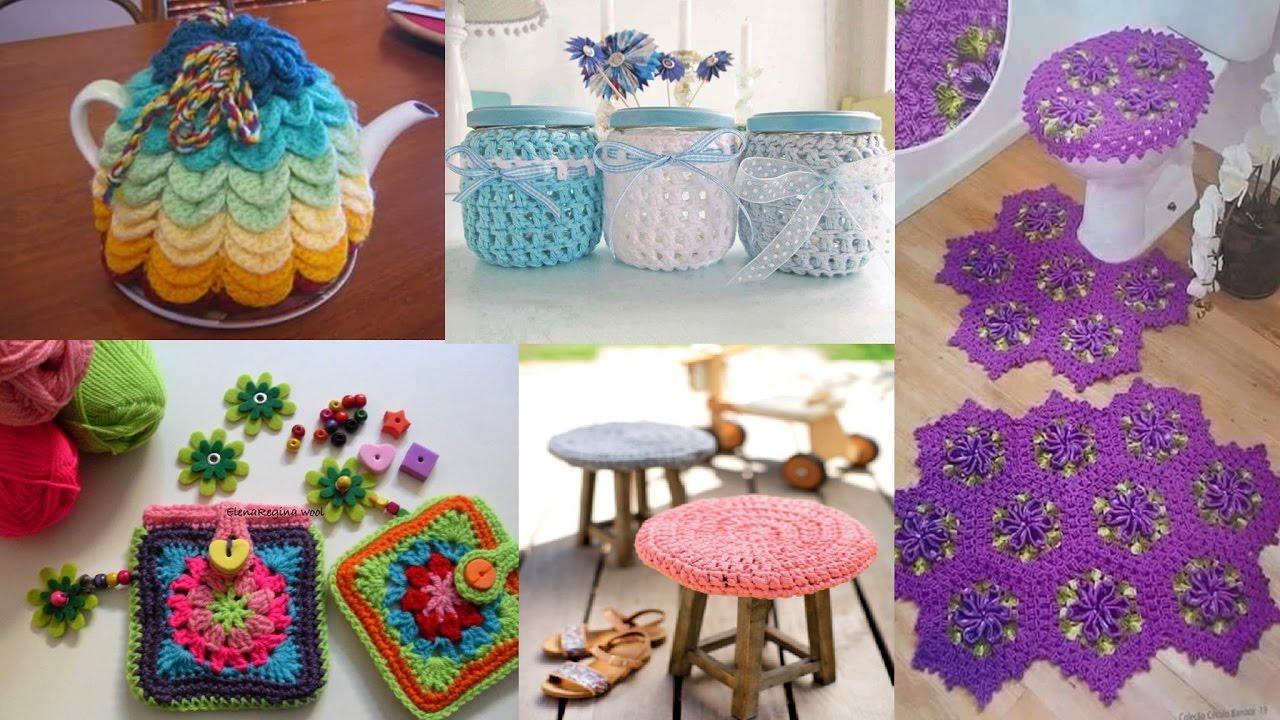 Ideas Para Decora Tu Hogar Con Estos Tejidos A Crochet Y
