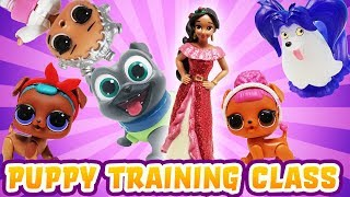 LOL Surprise Dolls Puppy Training Class! With MC Swag, Beats, Court Champ and BB Pup!