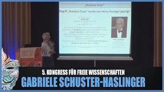 Gabriele Schuster-Haslinger - Bevölkerungsreduktion / -lenkung! 5. Kongress für freie Wissenschaften